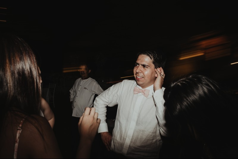 wedding hacienda Tanchem yucatan party groom