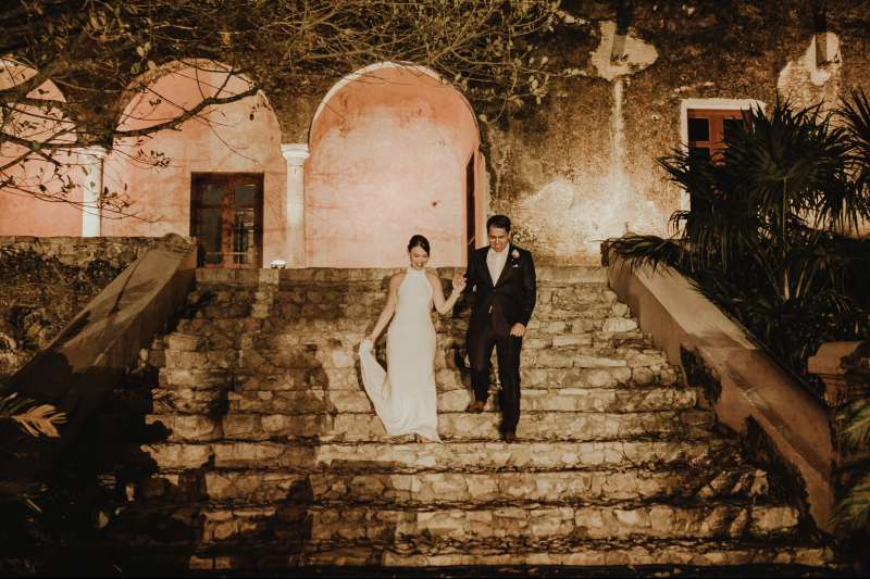wedding hacienda Tanchem yucatan love