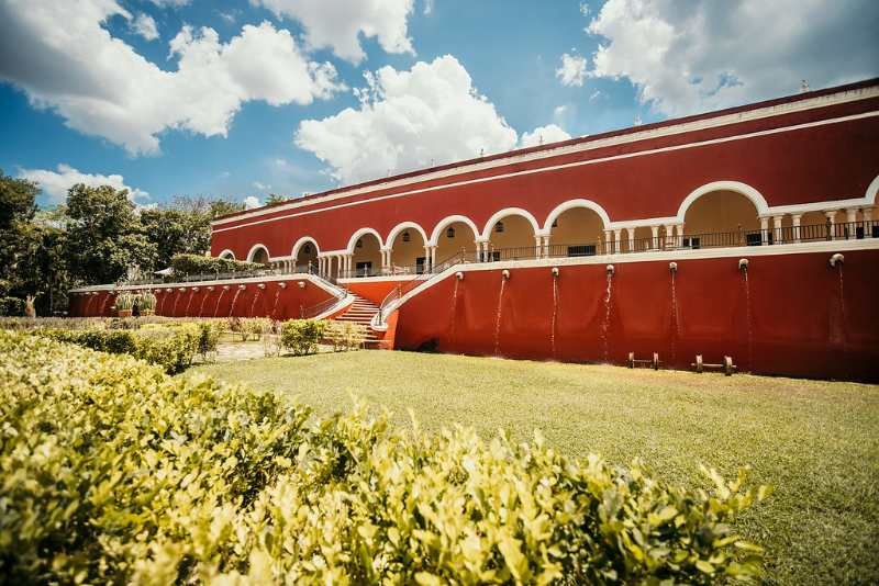 Perfect Hacienda for catholic wedding