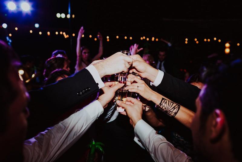 tropical wedding toasts