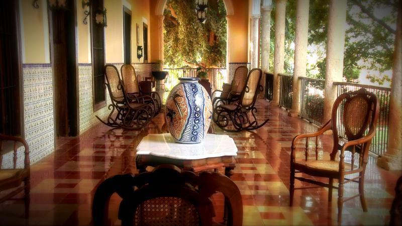 Beautiful decor of Hacienda for catholic wedding