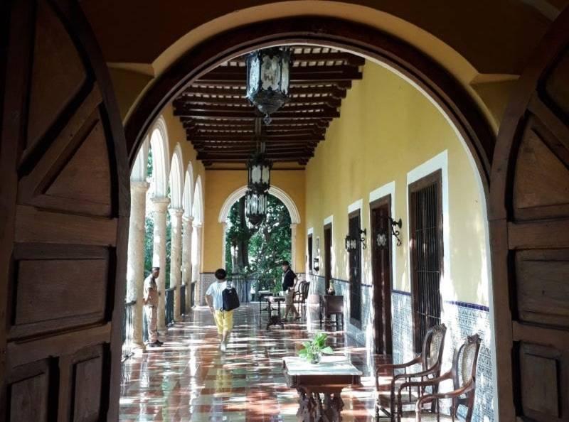 Hallway hacienda Sotuta de Peon