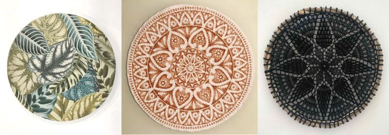 Gorgeous boho chic tableware