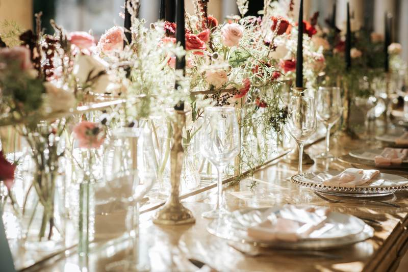 Beautiful decoration for a vintage wedding