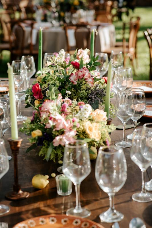 Flowers decoration for tables