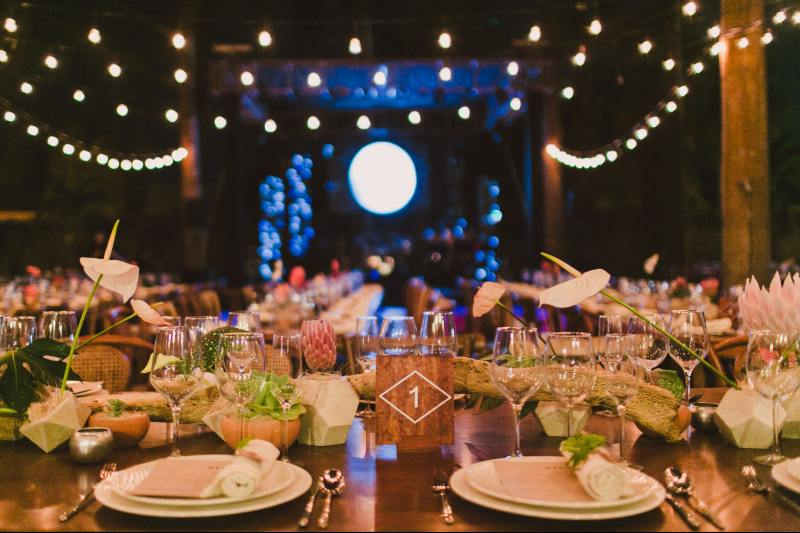Romantic decoration for your wedding in Cancun
