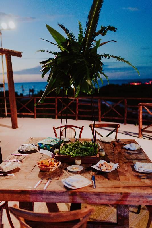 wedding furniture in Cancun