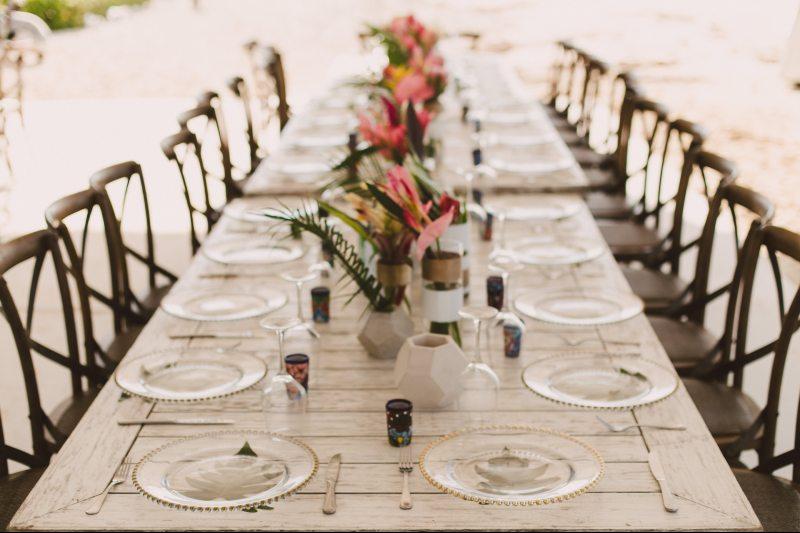 Amazing decoration for beach weddings
