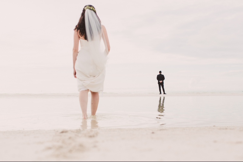 beautiful photoshoot at the beach wedding venue