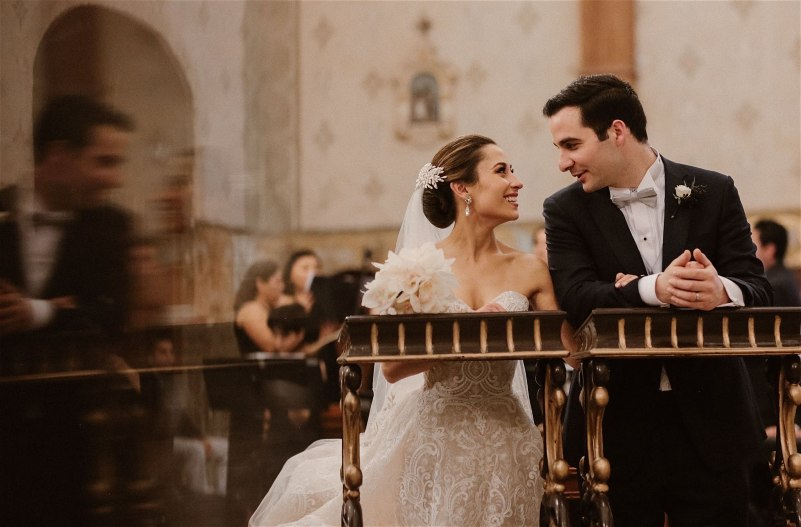 Beautiful catholic wedding
