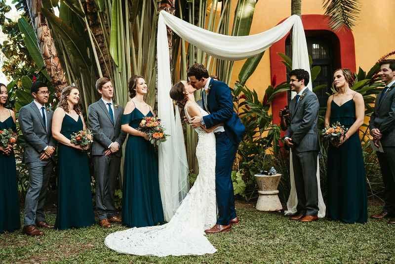 boda civil en hacienda