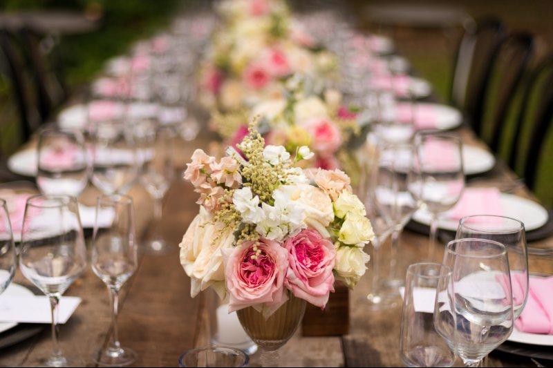 centerpiece in wedding