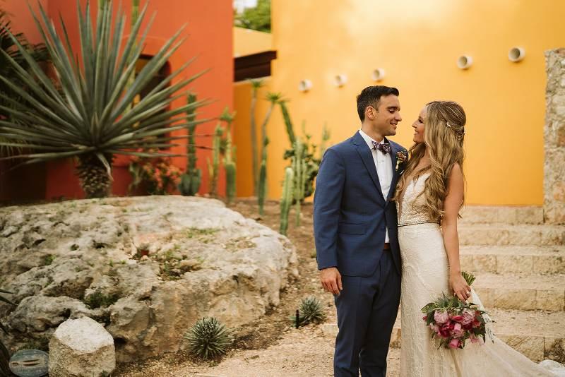 sesion de bodas en hacienda yucatan