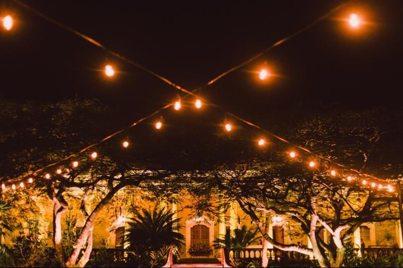 luces decorativas boda