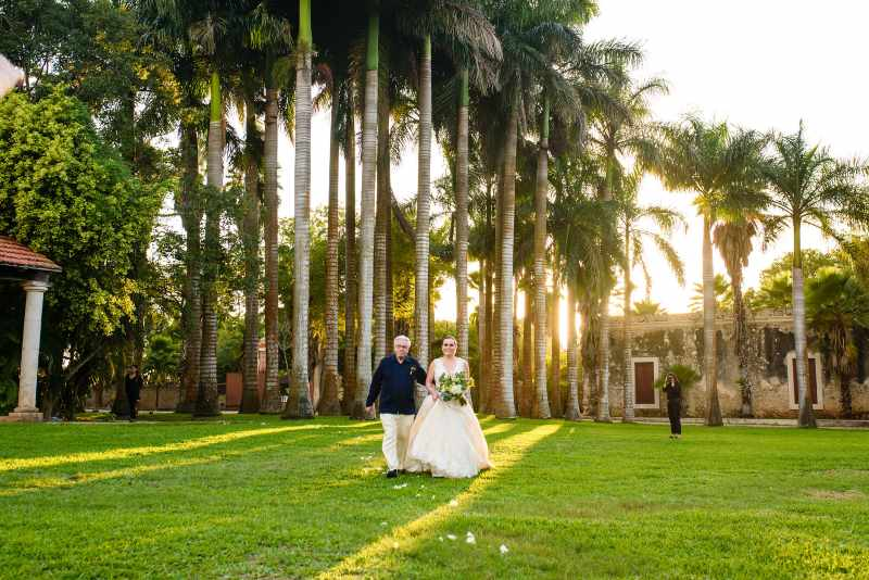 wedding in hacienda
