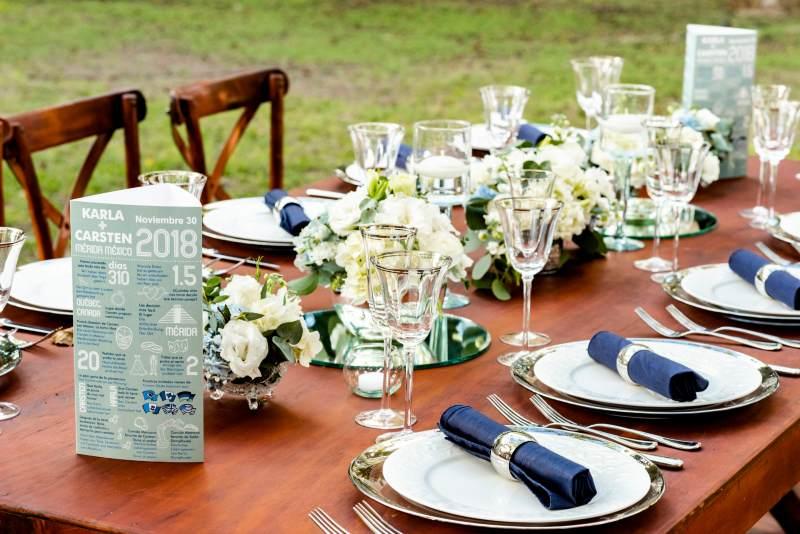 deails in blue wedding