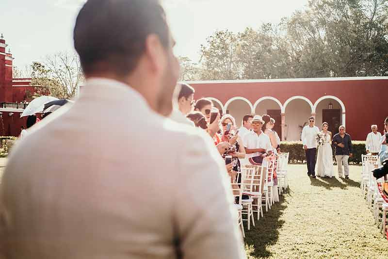 ceremony wedding hacienda