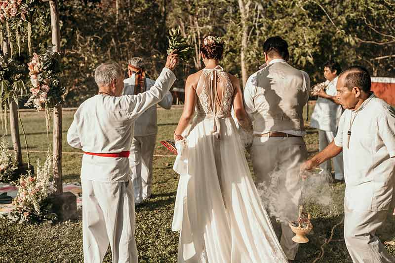 mayan wedding ceremony