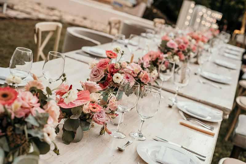 centerpieces boda