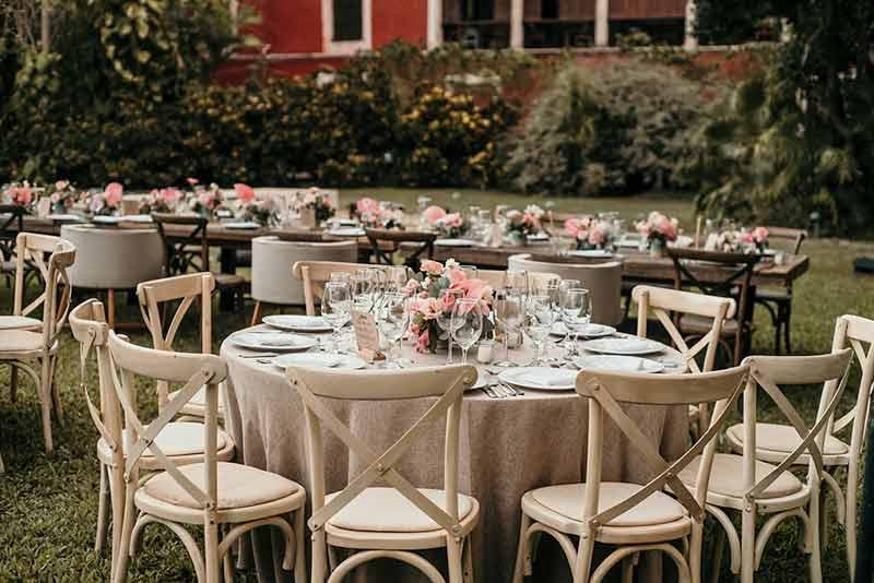 tableware boda hacienda