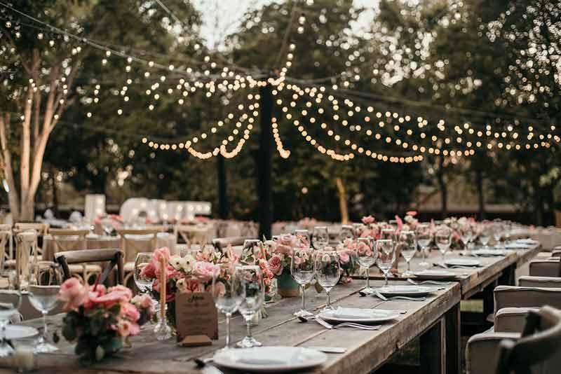 luces led boda hacienda