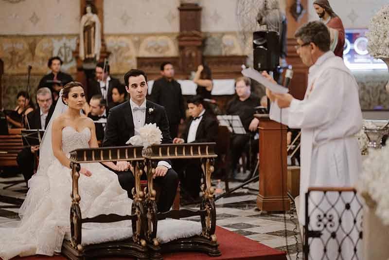 boda en iglesia de merida