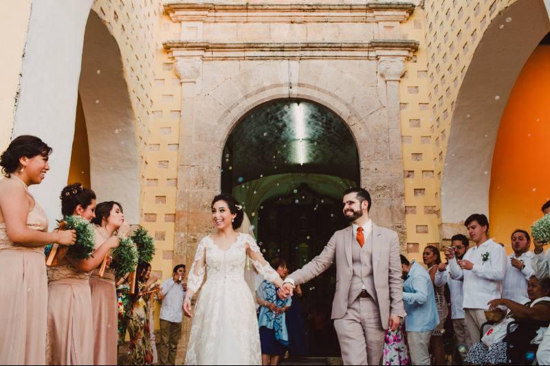 ceremony wedding in valladolid