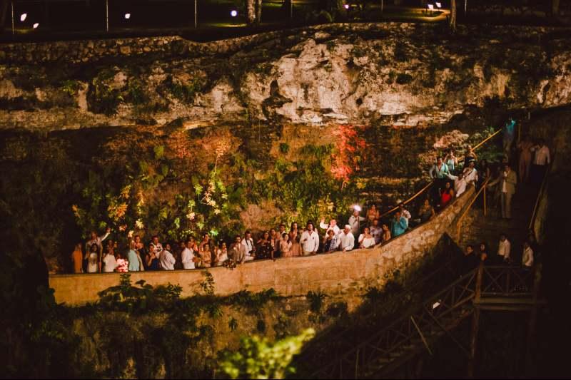party in hacienda