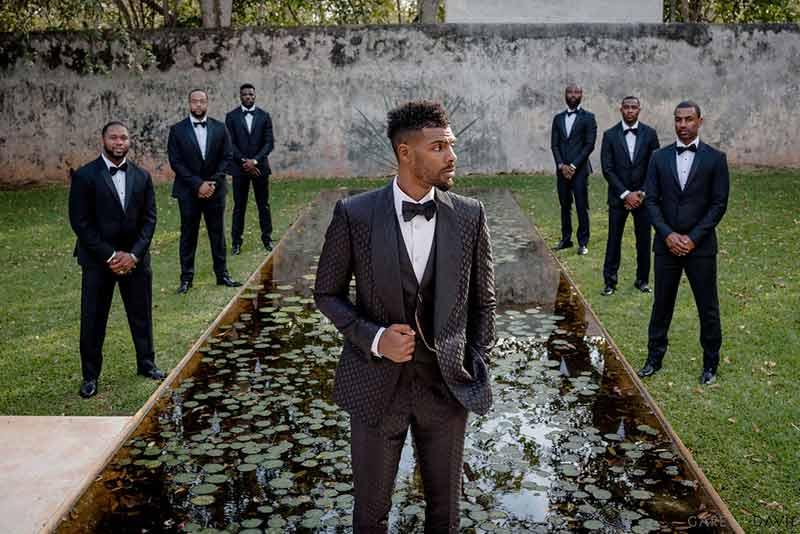 groom wedding hacienda yucatan