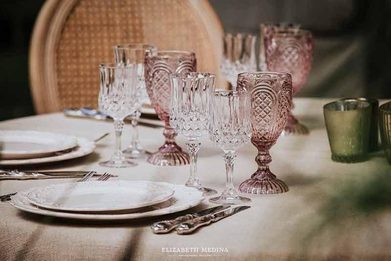 copas vintage boda