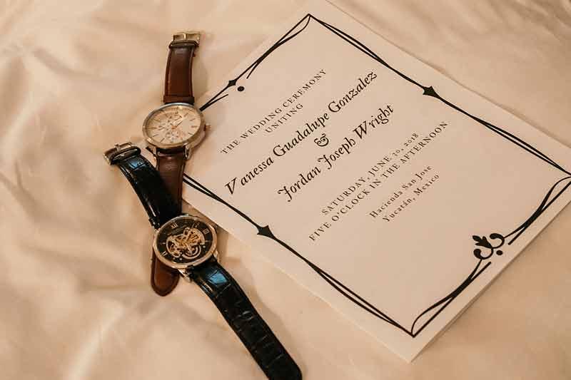reloj para boda