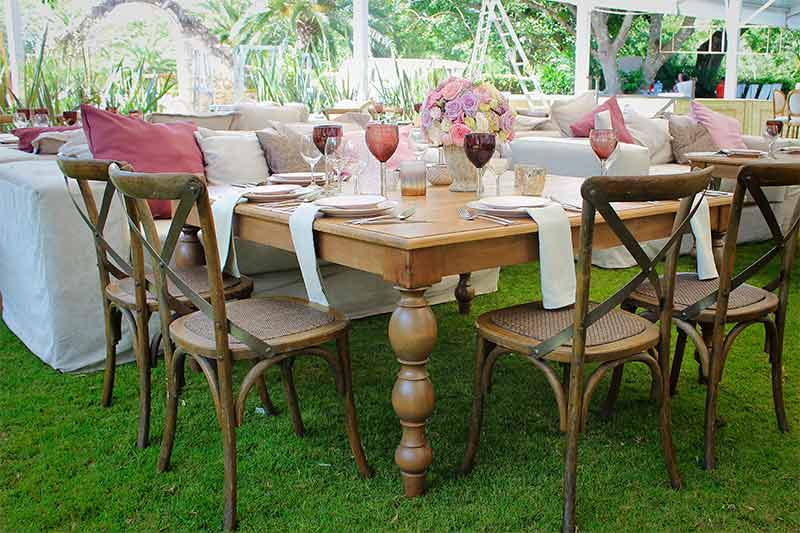 mesa boda vintage decoracion