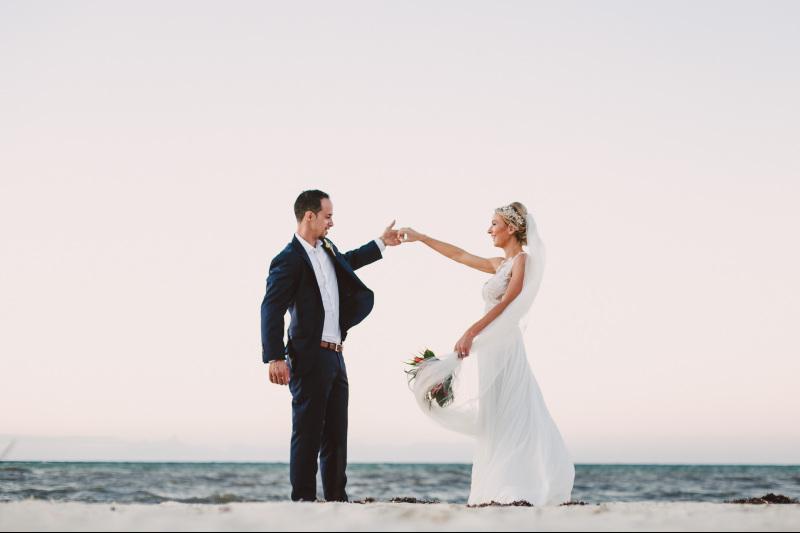 boda en playa yucatan
